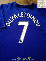 2010/11 Everton Home Premier League Football Shirt Bilyaletdinov #7 (XL)