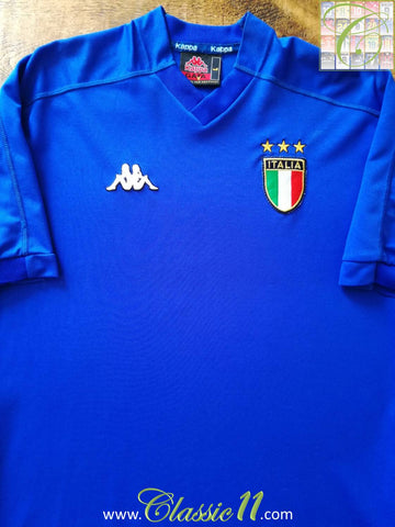 1999/00 Italy Home Football Shirt (XXL)