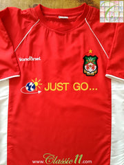 2004/2005 Wrexham Home Football Shirt (M)