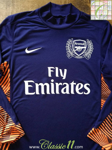 21a7453faa5 2011 12 Arsenal Goalkeeper Football Shirt   Vintage Soccer Jersey ...