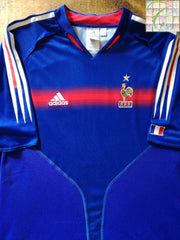2004/05 France Home Football Shirt (S)