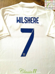 2014/15 England Home Football Shirt Wilshire #7 (L)