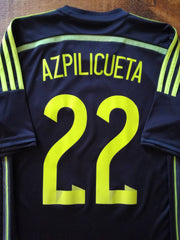 2013/14 Spain Away Football Shirt Azpilicueta #22 (S)