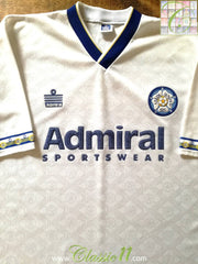 1992/93 Leeds United Home Football Shirt (M)