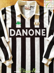 1992/93 Juventus Home Football Shirt (M)