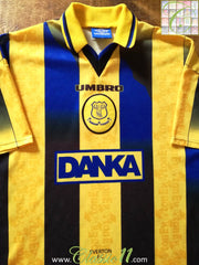 1996/97 Everton Away Football Shirt (XL)