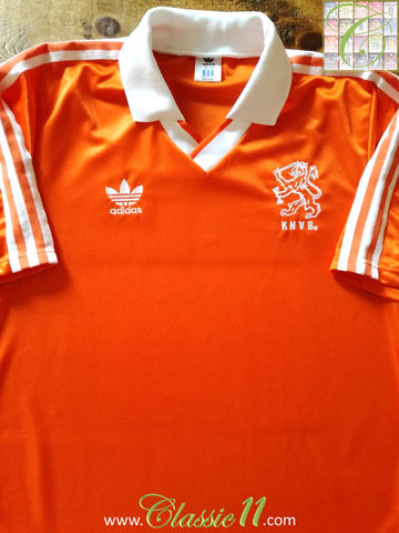 1990/91 Netherlands Home Football Shirt (M)