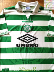 1997/98 Celtic Home Football Shirt (L)
