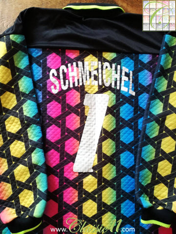 1992/93 Denmark Goalkeeper Football Shirt Schmeichel #1 (XL)