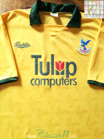 1991/92 Crystal Palace Away Football Shirt (L)