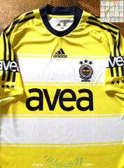 2008/09 Fenerbahce Away Football Shirt (S)