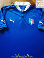 2012/13 Italy Home Football Shirt (L)