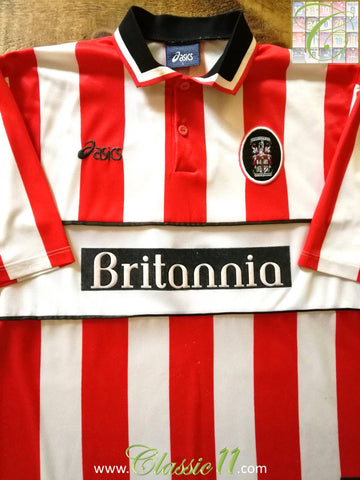 1999/00 Stoke City Home Football Shirt (L)