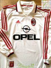 1998/99 AC Milan Away Football Shirt. (L)