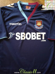 2012/13 West Ham Away Football Shirt (M)