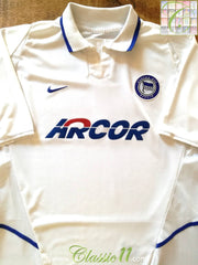 2002/03 Hertha Berlin Away Football Shirt (XL)