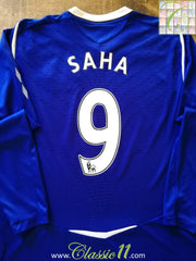 2008/09 Everton Home Premier League Football Shirt Saha #9 (XL)
