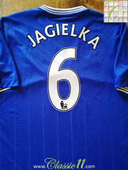 2009/10 Everton Home Premier League Football Shirt Jagielka #6 (XL)
