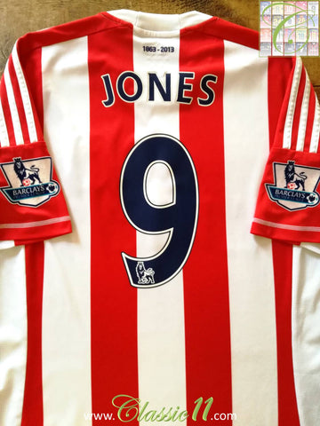 2012/13 Stoke Home Premier League Football Shirt Jones #9 (M)