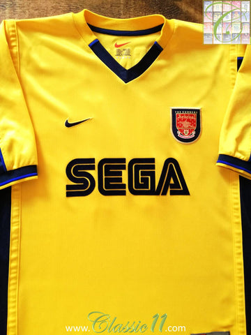 1999/2000 Arsenal Away Football Shirt (XL)
