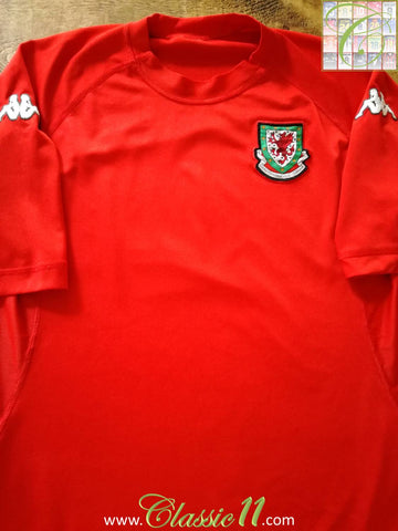 2004/05 Wales Home Football Shirt (XXL)