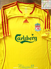 2006/07 Liverpool Away Football Shirt (L)