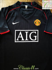 2007/08 Man Utd Away Football Shirt (XXL)