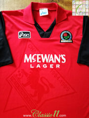 1995/96 Blackburn Rovers Away Football Shirt (XL)