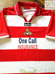 2001/02 Doncaster Rovers Home Football Shirt (L)