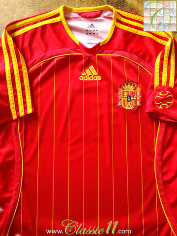 2005/06 Spain Home Football Shirt (S)