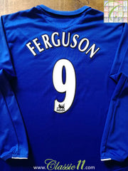 2005/06 Everton Home Premier League Football Shirt Ferguson #9 (XXL)