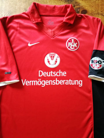 2000/01 1. FC Kaiserslautern Centenary Home Football Shirt (S)