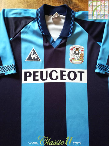 1996/97 Coventry City Home Football Shirt (XXL)