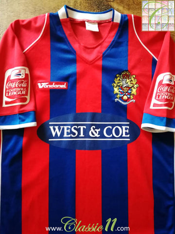 2007/08 Dagenham & Redbridge Home League 2 Football Shirt (L)