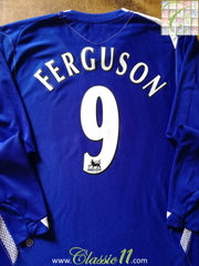 2006/07 Everton Home Premier League Football Shirt. Ferguson #9 (XL)