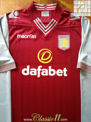 2013/14 Aston Villa Home Football Shirt (XXL) *BNWT*