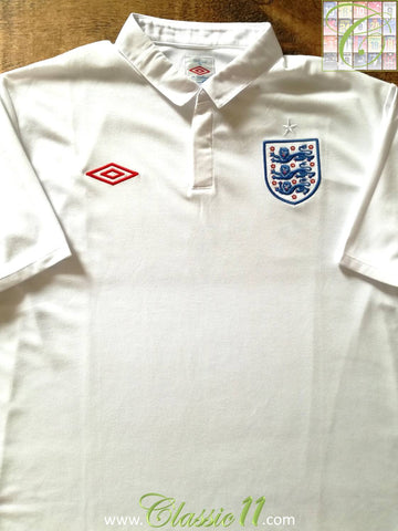 2009/10 England Home Football Shirt (XL) *BNWT*