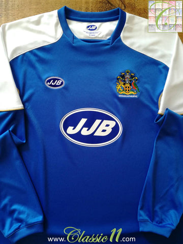 2006/07 Wigan Athletic Home Football Shirt. (XL)
