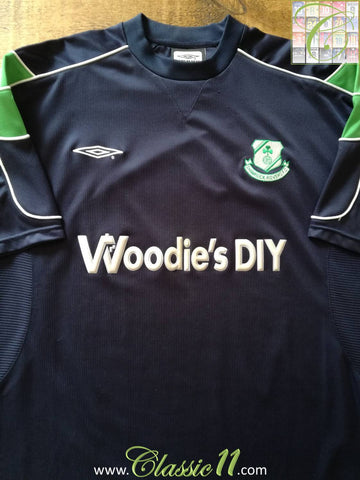 2001/02 Shamrock Rovers Away Football Shirt (XL)