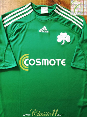 2009/10 Panathinaikos Home Football Shirt (XXL)