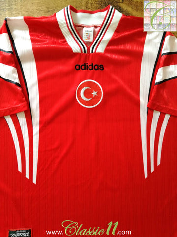 1996/97 Turkey Home Football Shirt (XL)