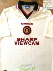 1996/97 Man Utd Away Football Shirt (XL)