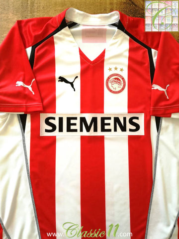 2005/06 Olympiacos Home Football Shirt (L)