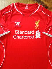 2014/15 Liverpool Home Football Shirt (S)