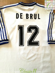 1996/97 Club Brugge Home Football Shirt De Brul #12 (XL)