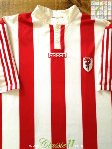 1996/97 AS Cannes Home Football Shirt (XL)