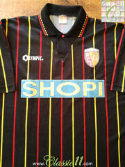 1995/96 RC Lens Away Football Shirt #6 (XL)