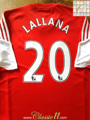 2013/2014 Southampton Home Premier League Football Shirt Lallana #20 (L)