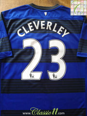 2011/12 Man Utd Away Premier League Football Shirt Cleverley #23 (M)