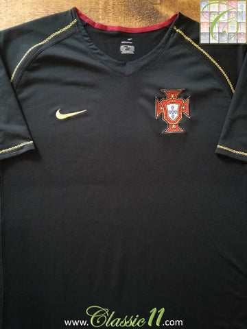 2006/07 Portugal Away Football Shirt (L)